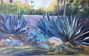 Agaves along Lotus Land